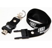 Flash Drive with Lanyard