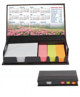 Memo Box with Sticky Pad